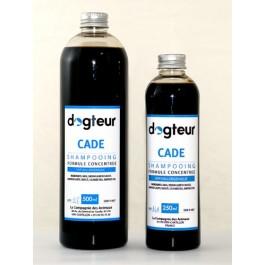 Offre Dogteur: 1  Shampooing PRO Dogteur Cade 10 L = 1 gant de toilettage offert - La Compagnie Des Animaux