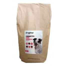 Dogteur Croquettes Premium sans céréales saumon et truite chien adulte 15 kg - La Compagnie Des Animaux