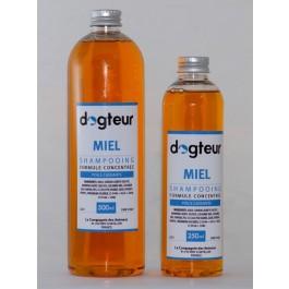 Offre Dogteur: 1 Shampooing PRO Dogteur Miel 10 L acheté = 1 gant de toilettage offert - La Compagnie Des Animaux