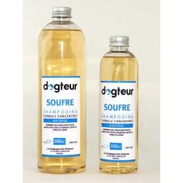 Offre Dogteur: 1 Shampooing PRO Dogteur Soufre 5 L acheté = 1 gant de toilettage offert - La Compagnie Des Animaux