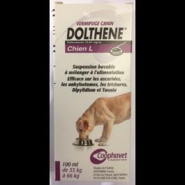 Dolthene L (chien de 33 à 66 kg) 100 ml - La Compagnie Des Animaux
