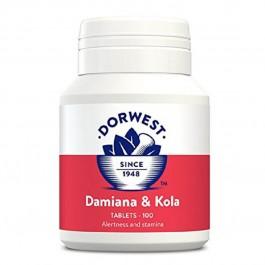 Dorwest Damiana et Noix de Kola 100 cps - La Compagnie Des Animaux