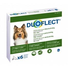 Duoflect Chiens 20-40 kg 6 pipettes - 12 mois - La Compagnie Des Animaux