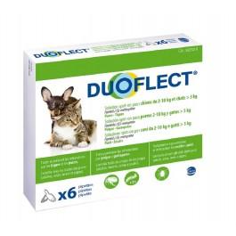 Duoflect Chien 2-10 kg et chat > 5kg 6 pipettes - 12 mois - La Compagnie Des Animaux