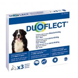 Duoflect Chiens 40-60 kg 3 pipettes - 6 mois - La Compagnie Des Animaux
