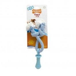 Dura Toy Sucette Corde saveur Poulet pour Chien 24 cm - La Compagnie Des Animaux