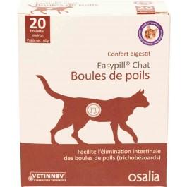 Easypill Boules de Poils Chat - La Compagnie Des Animaux