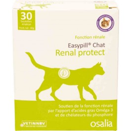 Easypill Renal Protect Chat 30 boulettes de 2 grs - La Compagnie Des Animaux