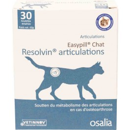 Easypill Resolvin Articulations Chat (ex. Raideurs articulations) - La Compagnie Des Animaux