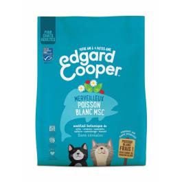 Edgard & Cooper Merveilleux Poisson Blanc MSC croquettes sans céréales pour chat adulte 300 g - La Compagnie Des Animaux