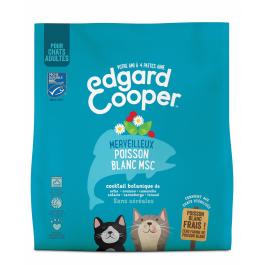 Edgard & Cooper Merveilleux Poisson Blanc MSC croquettes sans céréales pour chat adulte 1,75 kg - La Compagnie Des Animaux