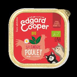 Edgard & Cooper Splendide Poulet BIO pour chat adulte 19 x 85 g - La Compagnie Des Animaux