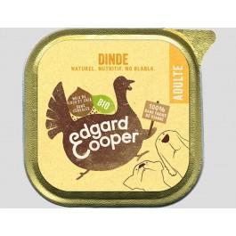 Edgard & Cooper Barquette Dinde Bio pour chien 17 x 100 g - La Compagnie Des Animaux