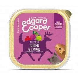 Edgard & Cooper Barquette Gibier & Canard pour chien 11 x 150 g - La Compagnie Des Animaux