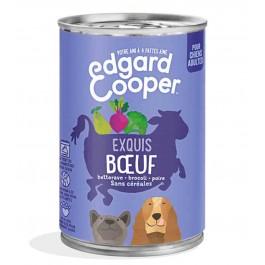 Edgard & Cooper Boite Boeuf Canneberge Brocoli Chien adulte 6 x 400 g - La Compagnie Des Animaux