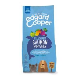Edgard & Cooper Croquettes au Saumon Norvégien Frais Chien Adulte 7 kg - La Compagnie Des Animaux