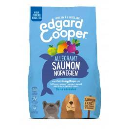 Edgard & Cooper Croquettes au Saumon Norvégien Frais Chien Adulte 700 g - La Compagnie Des Animaux