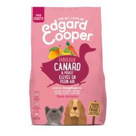 Edgard & Cooper Croquettes Canard et Poulet frais sans céréale Chiot 700 g - La Compagnie Des Animaux
