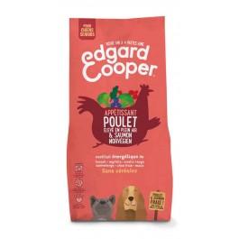 Edgard & Cooper Croquettes Poulet frais & Saumon norvégien sans céréale Chien Senior 12 kg - La Compagnie Des Animaux