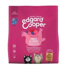 Edgard & Cooper Fabuleux Poulet & Canard croquettes sans céréales pour chaton 1,75 kg - La Compagnie Des Animaux