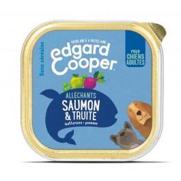 Edgard & Cooper Saumon & Truite pour chien 11 x 150 g - La Compagnie Des Animaux
