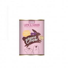 Edgard & Cooper Boite Lapin et Canard Chien Senior 6 x 400 g - La Compagnie Des Animaux