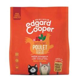 Edgard & Cooper Succulent Poulet croquettes sans céréales pour chat adulte 300 g - La Compagnie Des Animaux