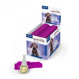 Effitix Spot On moyen chien 10 - 20 kg 24 pipettes - La Compagnie Des Animaux