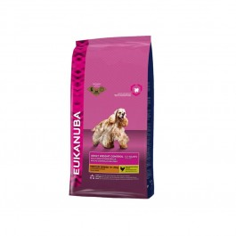 Eukanuba Chien Adult Weight Control Moyenne Race 15 kg - La Compagnie Des Animaux