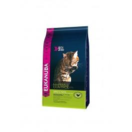 Eukanuba Chat Adult Hairball Control Poulet et Foie 4 kg - La Compagnie Des Animaux