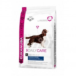 Eukanuba Chien Daily Care Overweight Sterilised 2.5 kg - La Compagnie Des Animaux