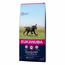 Eukanuba Growing Puppy Grande Race au poulet 15 kg - La Compagnie Des Animaux
