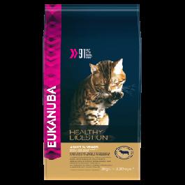 Eukanuba Chat Adult Healthy Digestion agneau 2 kg - La Compagnie Des Animaux