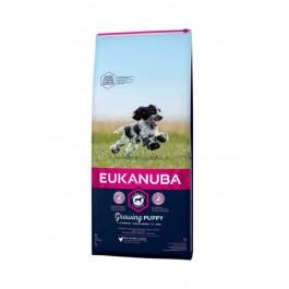 Eukanuba Growing Puppy Moyenne Race au poulet 3 kg - La Compagnie Des Animaux