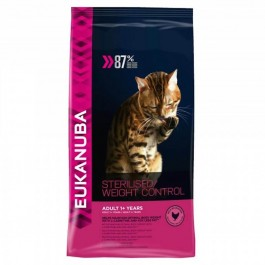 Eukanuba Chat Adult Sterilised/Weight Control 3 kg - La Compagnie Des Animaux