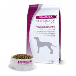 Eukanuba Veterinary Diets Weight/Diabetic Control chien 5 kg - La Compagnie des Animaux