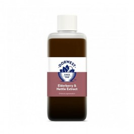 Dorwest extraits de baie de sureau et d'orties 125 ml - La Compagnie Des Animaux