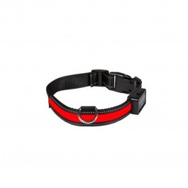 Eyenimal Collier Lumineux USB Rechargeable Rouge Taille L - La Compagnie Des Animaux