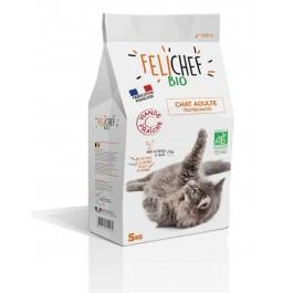 Felichef croquettes BIO chat adulte 5 kg - La Compagnie Des Animaux