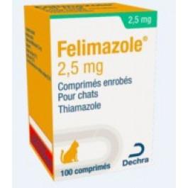 Félimazole 2,5 mg 100 cps - La Compagnie Des Animaux