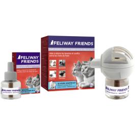 Feliway Friends diffuseur + recharge 48 ml - La Compagnie Des Animaux