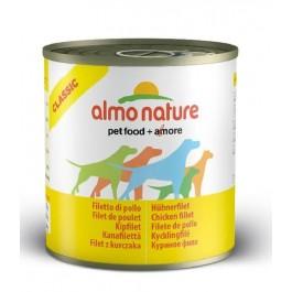 Almo Nature Chien Classic Filet de poulet 12 x 280 grs - La Compagnie Des Animaux