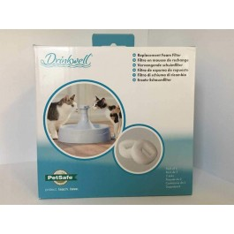 Filtres mousse de rechange Drinkwell 360° plastique - La Compagnie Des Animaux