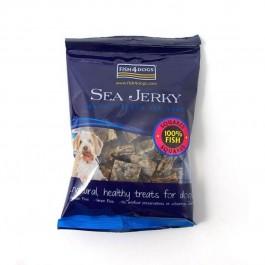 Fish4Dogs Sea Jerky Squares 100% Fish Friandise pour chien 100 g - La Compagnie Des Animaux