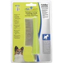 FURflex Peigne Finishing Comb FURminator pour chien - La Compagnie Des Animaux