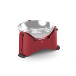 Gamelle ajustable Rotho Mypet Rouge 2.5 L - La Compagnie Des Animaux