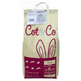 Gasco Cot & Co Lapin 25 kg - La Compagnie Des Animaux
