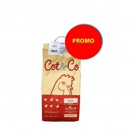 Gasco Cot & Co Poulet croissance 10 kg - La Compagnie Des Animaux