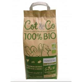 Gasco Cot&Co Bio volaille 2eme âge 5 kg - La Compagnie Des Animaux