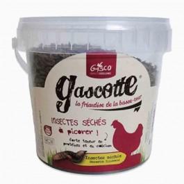 Gasco Insectes séchés Gascotte 300 g - La Compagnie Des Animaux